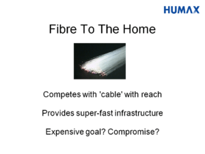 Slide about FTTH