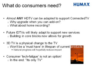 Powerpoint slide on consumers